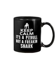 Pitbull Its Not Shark Mug thumbnail