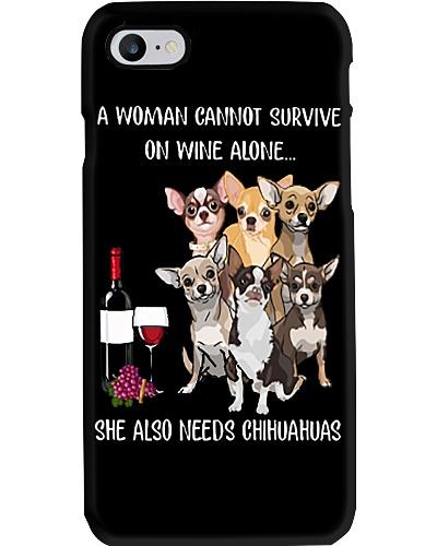 Woman Needs a Chihuahua