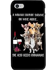 Woman Needs a Chihuahua Phone Case thumbnail