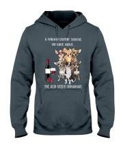 Woman Needs a Chihuahua Hooded Sweatshirt thumbnail