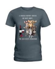 Woman Needs a Chihuahua Ladies T-Shirt thumbnail