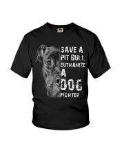 Save a Pitbull Youth T-Shirt thumbnail