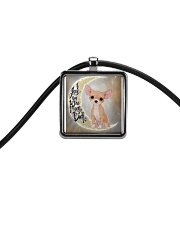 CHIHUAHUA LOVER Cord Rectangle Necklace thumbnail