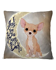 CHIHUAHUA LOVER Square Pillowcase front