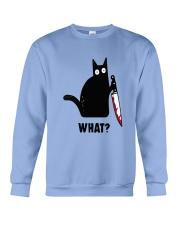 Cat What Hall Crewneck Sweatshirt thumbnail