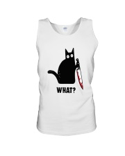 Cat What Hall Unisex Tank thumbnail