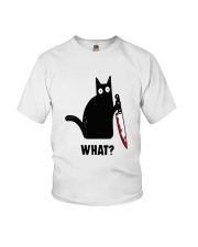 Cat What Hall Youth T-Shirt thumbnail