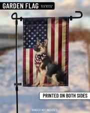 """German Shepherd American  11.5""""x17.5"""" Garden Flag aos-garden-flag-11-5-x-17-5-lifestyle-front-14"""