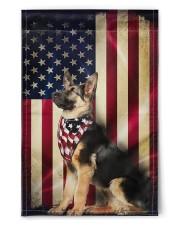 """German Shepherd American  11.5""""x17.5"""" Garden Flag front"""