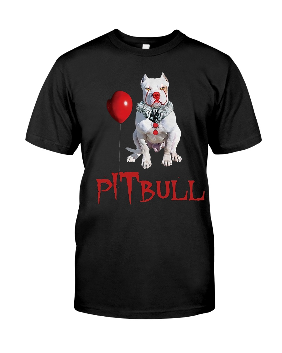 Pitbull Halloween  Classic T-Shirt