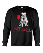 Pitbull Halloween  Crewneck Sweatshirt thumbnail
