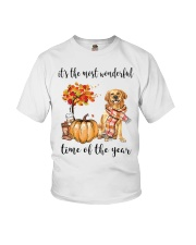 Wonderful Time - Golden Retriever Youth T-Shirt thumbnail
