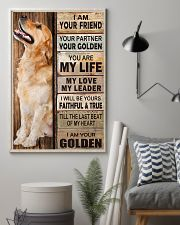 Golden Retriever Partner 11x17 Poster lifestyle-poster-1