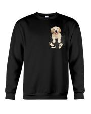 Golden Retriever Pocket Crewneck Sweatshirt thumbnail