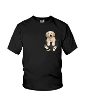 Golden Retriever Pocket Youth T-Shirt thumbnail