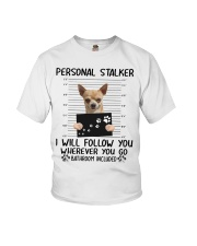 Chihuahua Stalker  Youth T-Shirt tile