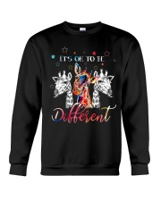 Giraffes Different Crewneck Sweatshirt thumbnail