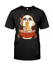 PANDA EATING Classic T-Shirt front