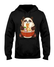 PANDA EATING Hooded Sweatshirt thumbnail