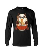 PANDA EATING Long Sleeve Tee thumbnail
