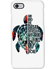 Turtle And Into The Ocean  Phone Case thumbnail