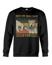 Pitbull Dad Crewneck Sweatshirt thumbnail