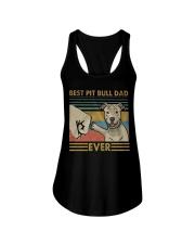 Pitbull Dad Ladies Flowy Tank thumbnail