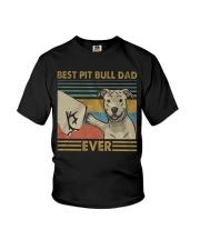 Pitbull Dad Youth T-Shirt thumbnail