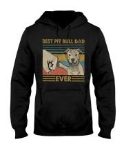 Pitbull Dad Hooded Sweatshirt thumbnail
