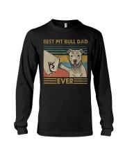 Pitbull Dad Long Sleeve Tee thumbnail