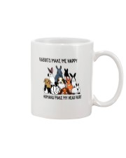 Rabbit Make Me Happy Mug thumbnail