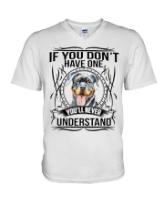 If You Dont Have Rottweiler V-Neck T-Shirt thumbnail