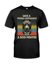 Save Pitbull Classic T-Shirt front