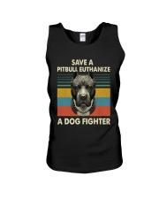 Save Pitbull Unisex Tank thumbnail