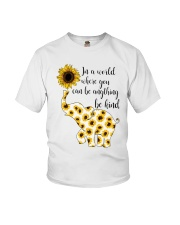 In A World Elephant Kind Youth T-Shirt thumbnail