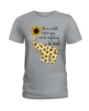 In A World Elephant Kind Ladies T-Shirt thumbnail