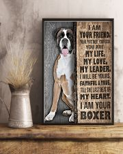 Boxer Your Friend Poster 11x17 Poster lifestyle-poster-3