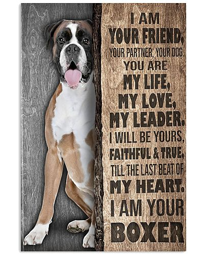 Boxer Your Friend Poster