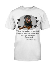 From Your Rottweiler Classic T-Shirt front