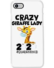 Giraffe Crazy Lady Phone Case thumbnail