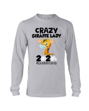 Giraffe Crazy Lady Long Sleeve Tee thumbnail