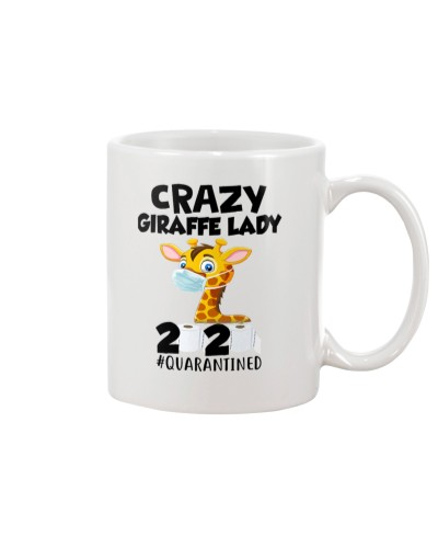 Giraffe Crazy Lady