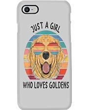 Just Girl Loves Golden Retriever Phone Case thumbnail