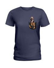 Gsd in Pocket Ladies T-Shirt thumbnail