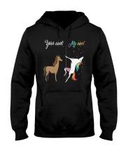 Horse My Aunt Hooded Sweatshirt thumbnail