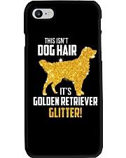 Golden Retriever Glitter Phone Case thumbnail