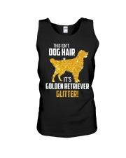 Golden Retriever Glitter Unisex Tank thumbnail