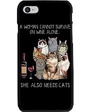 A woman Need Cats Phone Case thumbnail
