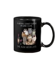 A woman Need Cats Mug thumbnail