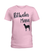 Rottweiler  Mama  Ladies T-Shirt tile